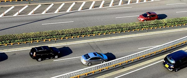 Cars on the Highway. Explore Insurance Products